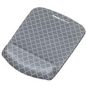 PlushTouch™ – Tapis de souris/repose-poignet, treillis gris