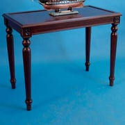Handcrafted Nautical Decor Rosewood Display Console Table