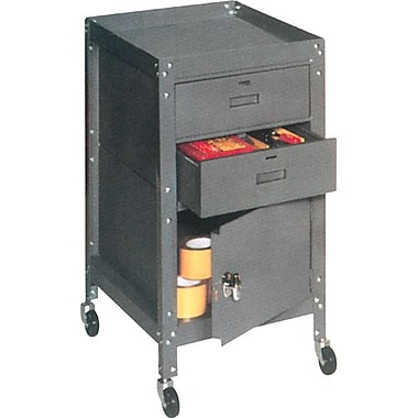 Edsal Tool Toters Cart 2 Drawers and Cabinet (FH212)