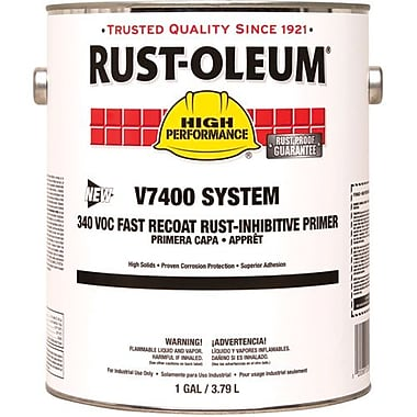 Rust-Oleum 340 VOC DTM Alkyd Enamel Coating Paint, Red Primer 1gal (V769402)