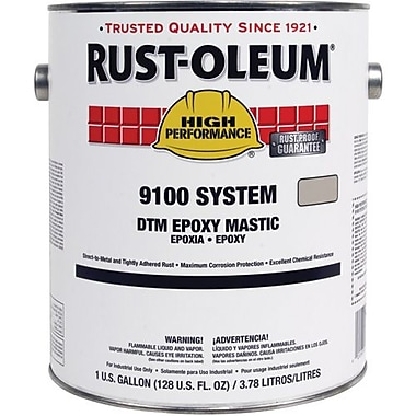 Rust-Oleum® DTM Epoxy Mastic Base Paint, Black 1gal (9179402)