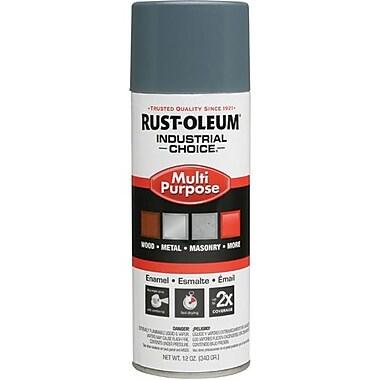Rust-OleumMD – Peinture d'émail en aérosol, gris machine, 12 oz (202214)