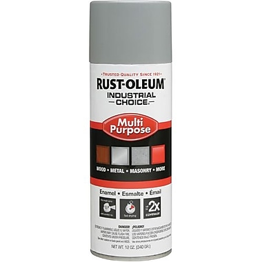Rust-Oleum® Enamel Spray Paint Ansi61 Light Grey 12oz (214645)