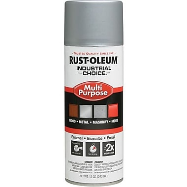 Rust-Oleum® Enamel Spray Paint Dull Aluminum 12oz (1614830)