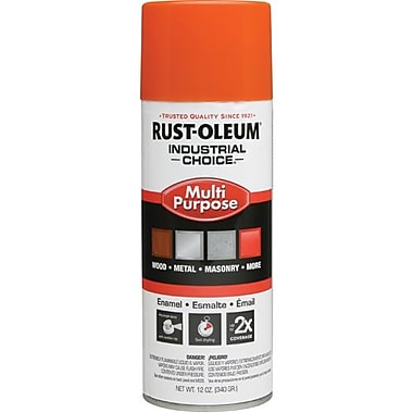 Rust-Oleum® Enamel Spray Paint Safety Orange 12oz (1653830)