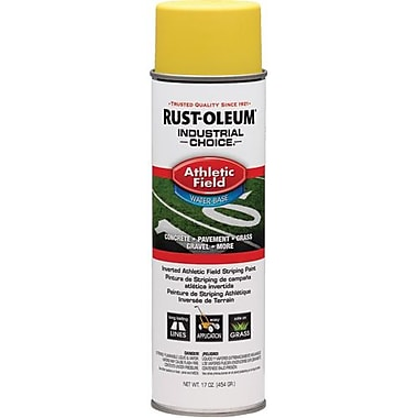 Rust-Oleum® Athletic Field Striping Paint Yellow 17oz (206045)