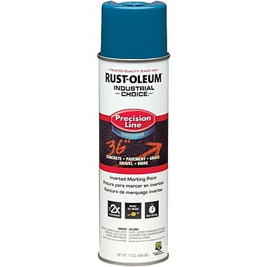 Rust-Oleum® Water Based Inverted Marking Paint, Caution Blue 17oz (203031)