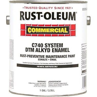 Rust-Oleum® DTM Alkyd Enamel Maintenance Paint, Gloss White 1gal (255558)