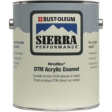 Rust-Oleum® DTM Acrylic Enamel Semi-Gloss Safety 1 gal (210475)