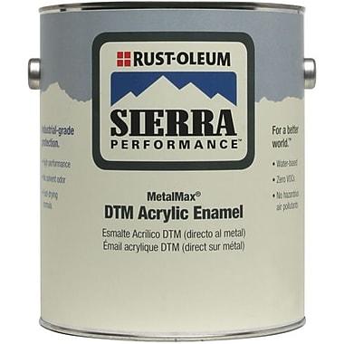 Rust-OleumMD – Émail acrylique DTM, semi-glacé, rouge sécurité, 1 gal (210475)