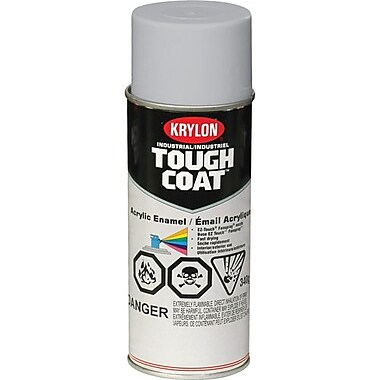 Krylon® Industrial Paint Acrylic Aklyd High Heat Aluminum 16oz Can (S00324)