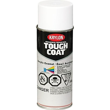 Krylon® Industrial Aerosol Paint Tough Coat®, Clear Gloss 16oz (S01000)