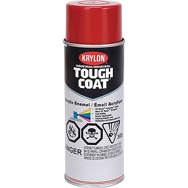Krylon® Industrial Aerosol Paint Tough Coat®, Red 16oz Can (S01110)
