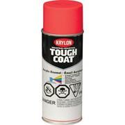 Krylon® Industrial Aerosol Paint Tough Coat®, Fluorescent Red 16oz Can (S01812)