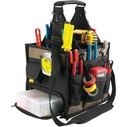 Kuny's™ Leather 23 Pocket Large Electrical & Maintenance Tool Carrier (SW-1528)