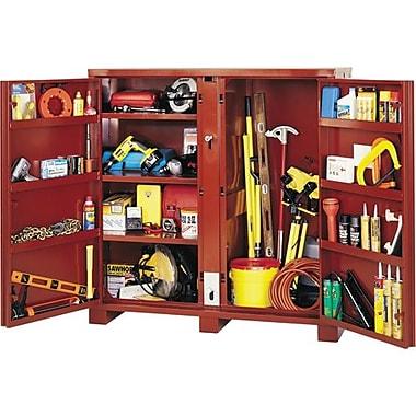 Jobox® Heavy Duty Cabinet 2 Door 60 1/8 x 24 1/4 x 60 3/4 (1-697990)