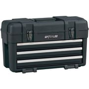 Waterloo 3-Drawer Plastic Portable Chest, Black (PP-2314BK)