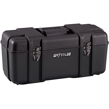 Waterloo – Boîte à outils en plastique de 20 po, noir (PP-2009BK)