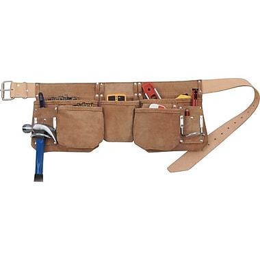 Kuny'sMC Leather – Tablier de charpentier C/W 5 pochettes (pour clous) (AP-625)