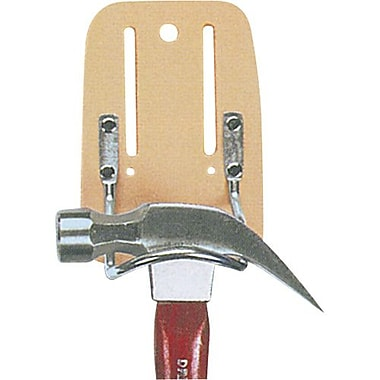 Kuny's™ Leather Steel Loop Hammer Holder, Beige (HM-213)