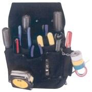 Kuny'sMC Leather – Poche en nylon à 11 pochettes pour outils d'électricien (EL-5505)
