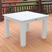 Highwood USA Dining Table; White