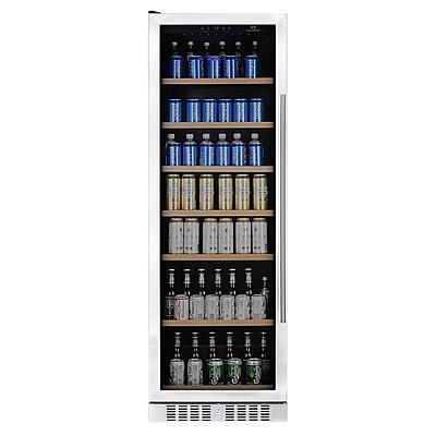 Kingsbottle KBU428B-LHH 570 Can Beverage Fridge Stainless steel