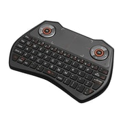 Adesso® Wireless Keyboard with Touchpad for Computer/Smart TV (WKB-4020UB)