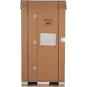 APC by Schneider Electric NetShelter SX Rack Cabinet for Server, Black (AR3307SP)
