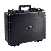 B&W Polypropylene Storage Case, Black (6700/B/DJI3)