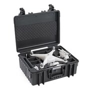 B&W Polypropylene Outdoor Storage Case, Black (6000/B/DJI4)