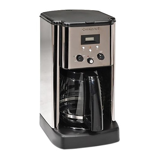 Cuisinart Cbc 00fr 12 Cups Refurbished Programmable Coffee Maker Black Silver