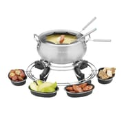 Cuisinart® Lazy Susan Electric Fondue, Brushed Chrome (CFO-1000FR)