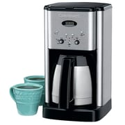 Cuisinart® DCC-1400FR Brew Central™ 10 Cups Refurbished Programmable Coffee Maker, Silver