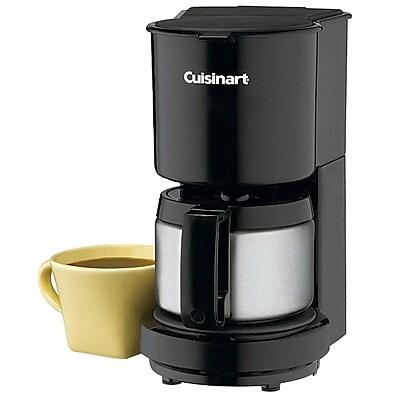 Cuisinart DCC-450BKFR 4 Cups Programmable Refurbished Coffee Maker, Black IM11Y8724