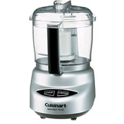 Cuisinart® Mini-Prep 3-Cup Refurbished Food Processor, Brushed Chrome (DLC-2ABCFR)