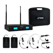 Pyle® Premier PDWM3365 Microphone System, Wireless, Black