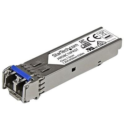StarTech.com® LC Duplex 1000Base-LX SFP Network Transceiver Module, Silver, 10/Pack (J4859C10PKST)