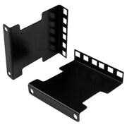 StarTech.com® Mounting Adapter Kit for Server Rack, Black (RDA2U)