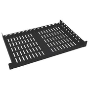 Tripp Lite Rack Shelf for 4 Post Rack Toolless Mounting, Black (SRSHELF2P1UTM)