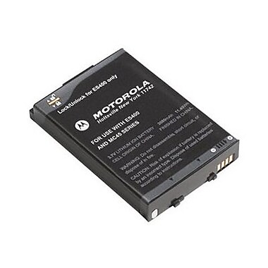 Zebra® Rechargeable Battery, 2680mAh, Black (BTRY-MC40EAB0E-01R)