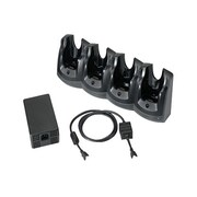 Zebra® 4-Slot Ethernet Cradle Kit for Motorola MC55/MC65/MC67 Mobile Computer, Black (CRD5501-401EES)