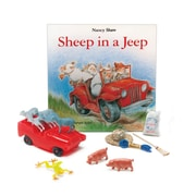 Primary Concepts Sheep in a Jeep 3-D Storybook, Paperback (1572)