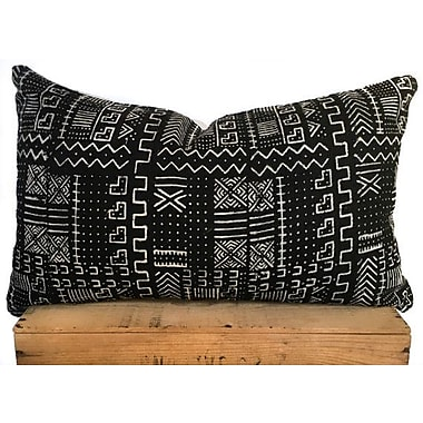 One Fine Nest African Print Mud Cloth Pillow Cover