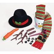 BurtonBurton 20 Piece Decorative Snowman Kit