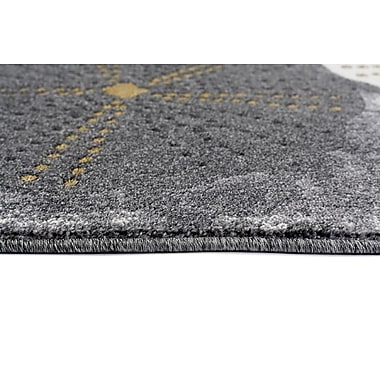 Persian-rugs Beverly Gray Area Rug; Runner 2'2'' x 7'6''