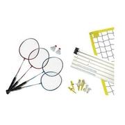 MD Sports Badminton 4 Player Set