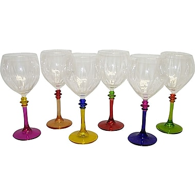 Three Star Wine Glass (Set of 6)