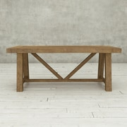 Urban Woodcraft Ancona Dining Table; Natural