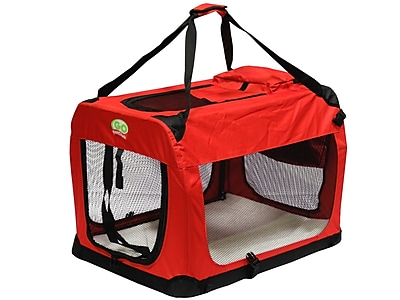 Go Pet Club Pet Crate; 20.5'' H x 20.5'' W x 28'' L